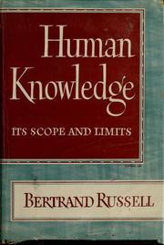 humanknowledgeit00russ